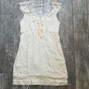 Boho lace cream delia's dress